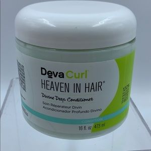 deva curl heaven in hair divine deep conditioner